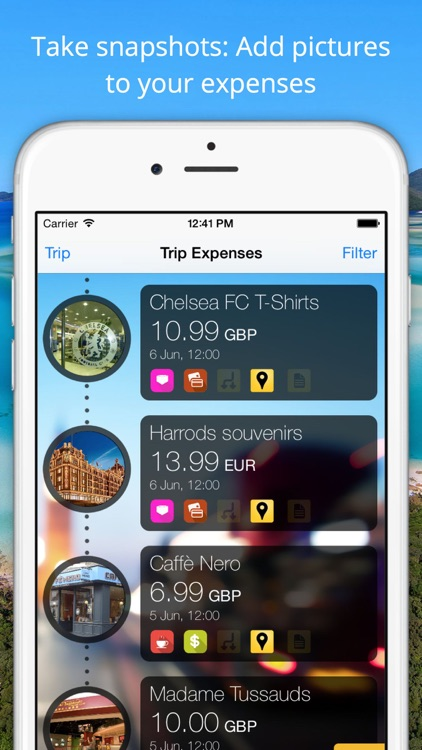 Travel Wallet - Expense tracker, control and save money in your trips screenshot-3