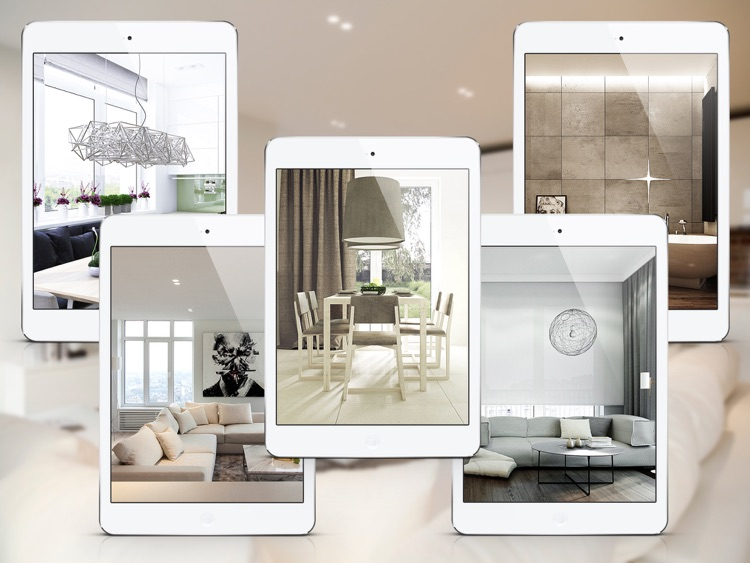 Modern Apartment Decorating Ideas for iPad screenshot-1