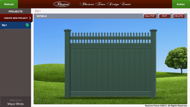 Illusions Fence Design Center On The App Store