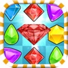 Jewel Crush Mania - Best FREE Match 3 Puzzle Games for Kids & Fiends!