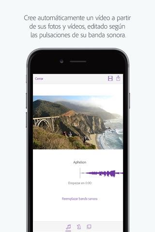 Adobe Premiere Clip - Create, edit & share videos screenshot 1