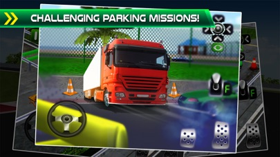 3D Truck Car Parking Simulator - School Bus Driving Test Games!のおすすめ画像2