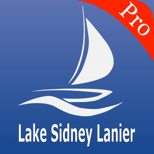 Lake Sidney Lanier Nautical charts pro