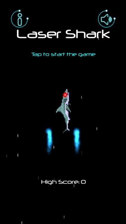 Laser Shark in Space