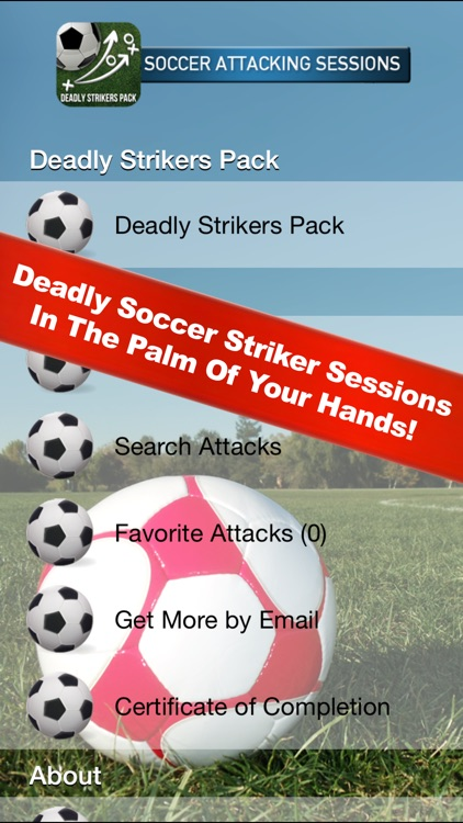 Soccer Attacking Sessions screenshot-0