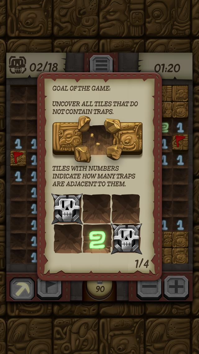 Temple Minesweeper - El Dorado Adventure with Mine Sweeper Gameplay screenshot four
