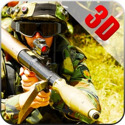 Defence Commando: Soldier Bazooka and Rocket Launchers WW2 Game