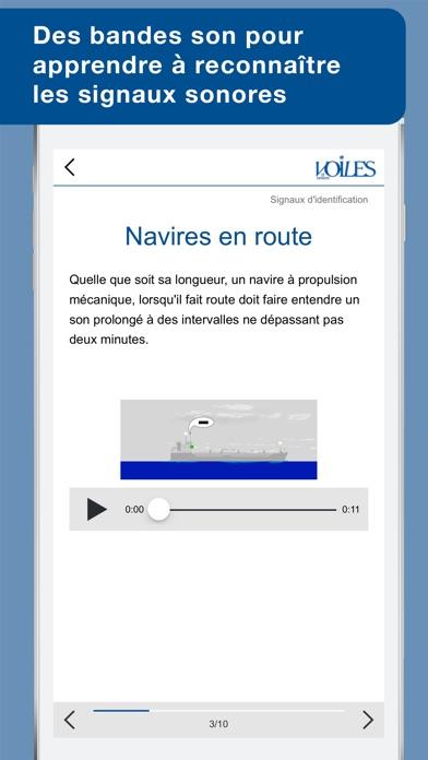download Feux & marques des navires - Voiles et voiliers - Au programme du Permis Côtier apps 3