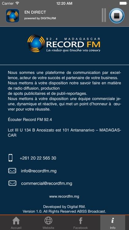 Record FM Madagascar