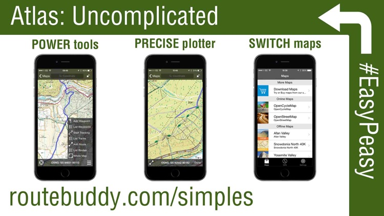 RouteBuddy Atlas - GPS Nav App for US and Worldwide Topo Maps screenshot-3