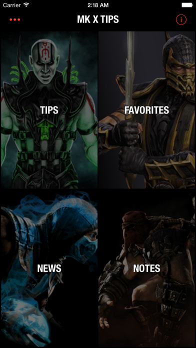 Tips for Mortal Kombat X - Mobile Guide with tips and tricks for MKX!のおすすめ画像1