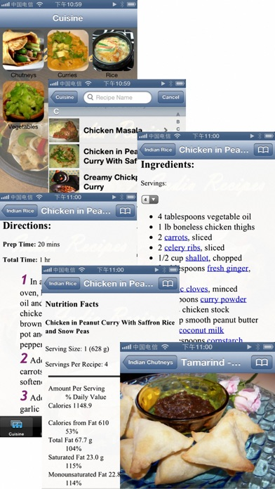Screenshot for 4000+ Indian Recipes in United Arab Emirates App Store