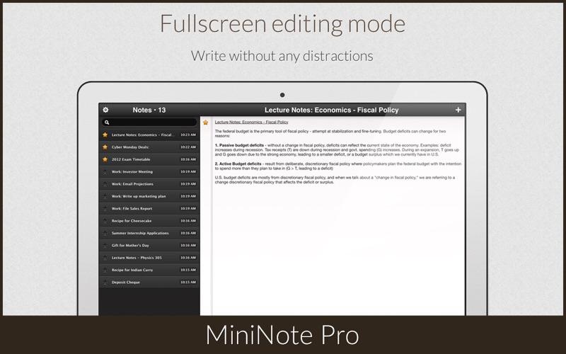 MiniNote Pro Screenshot 5