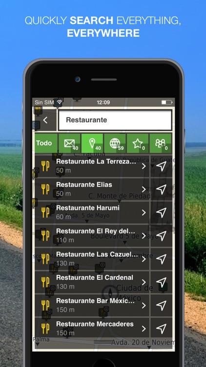 NLife Mexico Premium - Offline GPS Navigation & Maps screenshot-3