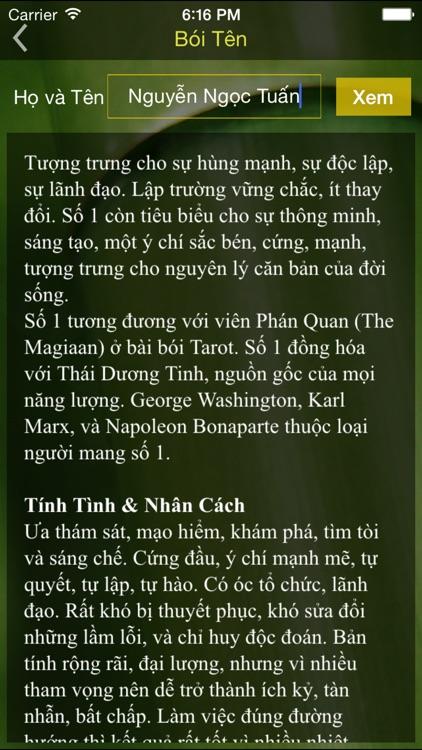 Tử vi Việt Nam - Pro screenshot-3