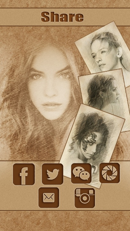 Sketch Guru HD - Portrait Photo Editor to add pencil & cartoon effects, texts, stickers on pic screenshot-4