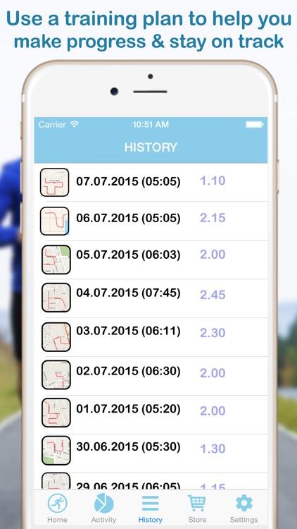 Keep My Run: GPS Walking and Step Tracking Pedometer for Calories screenshot-3