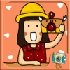 Nice Day Stamp by PhotoUp - Cute and Nice App with Stamps Sticker Frame and Filter for photo