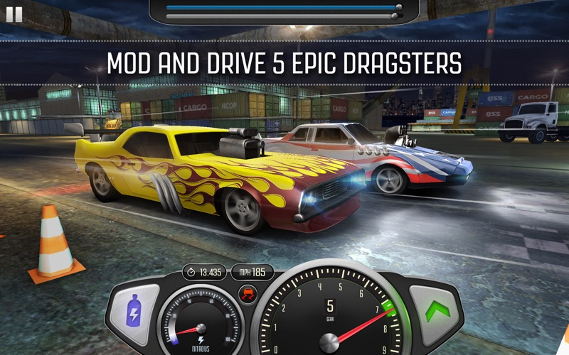 Top Speed: Drag & Fast Racing free Gold and Fuel hack