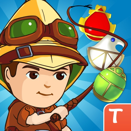 Jewel Raiders - Legends of the Lost Treasures for Tango iOS App