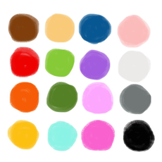 ‎Scribbaloo Paint - a simple, easy to use painting app for toddlers and preschoolers