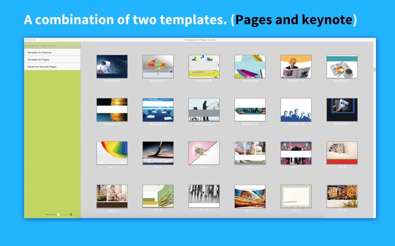 Templates for Pages Keynote | App Price Drops