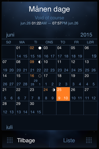 Deluxe Moon Pro - Moon Phases Calendar screenshot 3