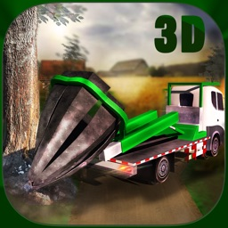 Tree Mover Farm Tractor 3D Simulator