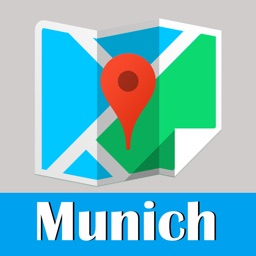Munich Map offline, BeetleTrip subway metro street pass travel guide