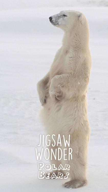 Jigsaw Wonder Polar Bears for Kids screenshot-4