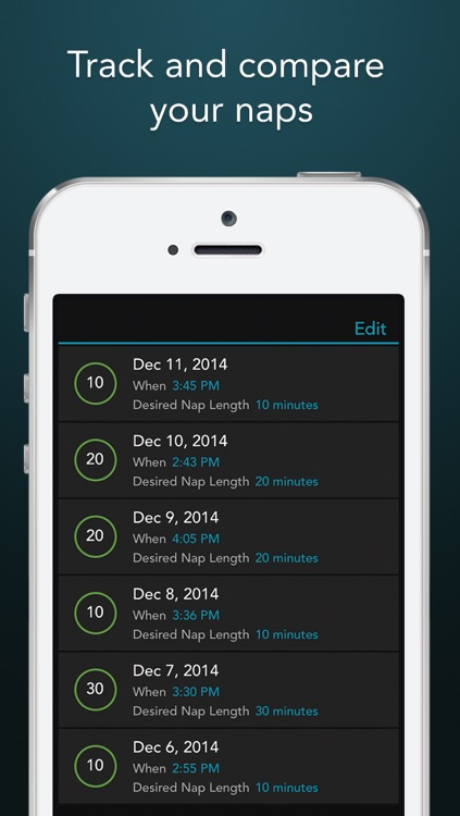 Power Nap HQ: 750 sound sleep tracking alarm clock screenshot-4