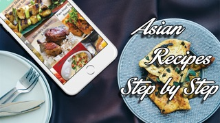 Download Asian Recipes - Step by Step Cookbook App