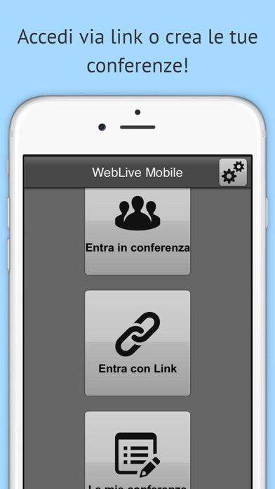 Screenshot of WebLive1