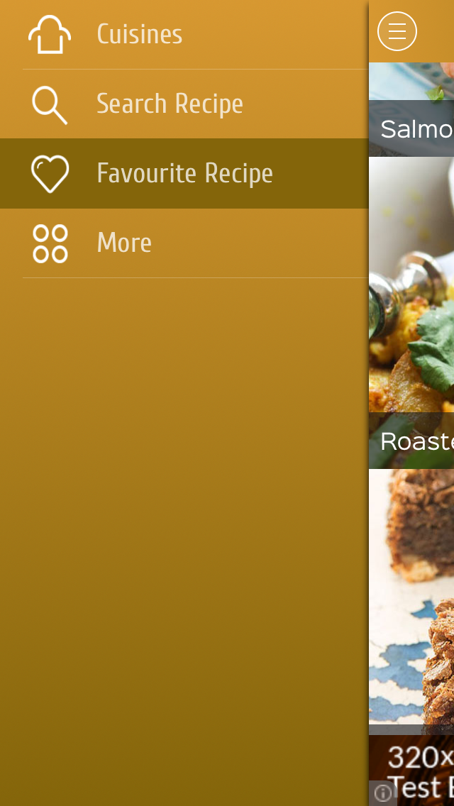 gluten free food recipes screenshot two