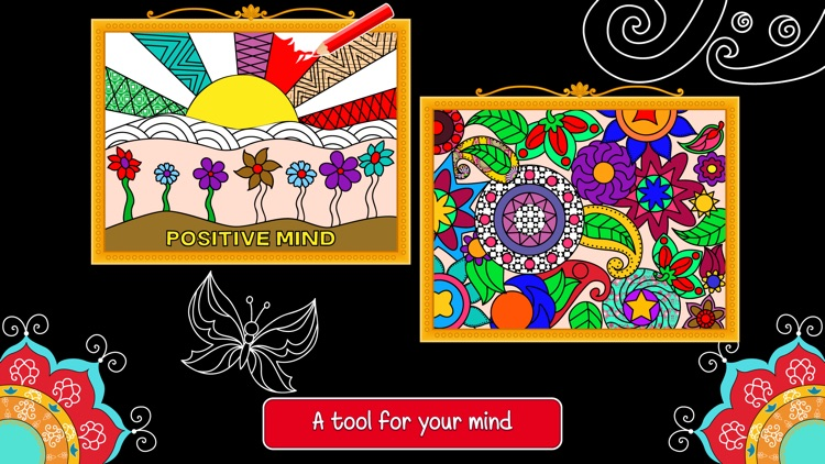 Balance Art Class: Stress Relieving Coloring Book for Adults Pro screenshot-3