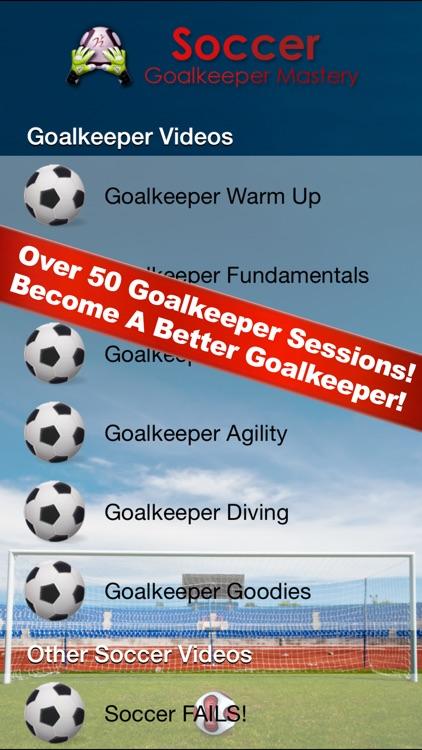 Soccer Goalkeeper Mastery screenshot-0