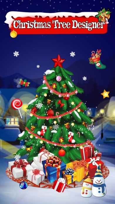 Christmas Tree Designer - Sticker Photo Editor to make &