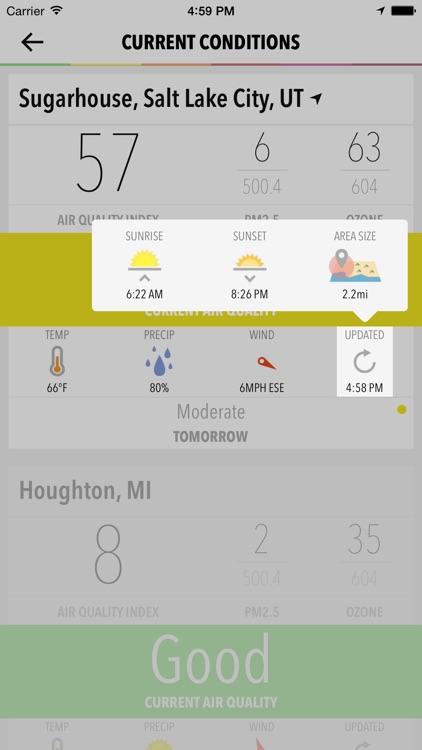 Smoggy - Air Quality screenshot-4