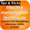 Memorization Techniques, Tips & Tricks