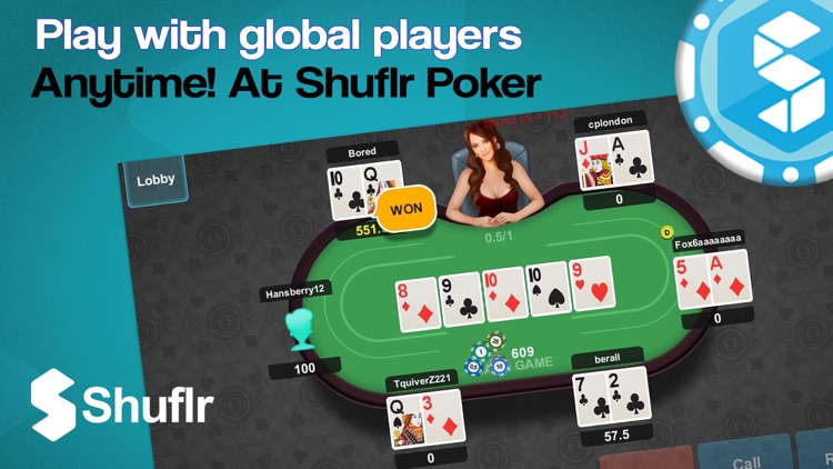Shuflr Poker Texas Holdem Live Free By Shuflr Ltd