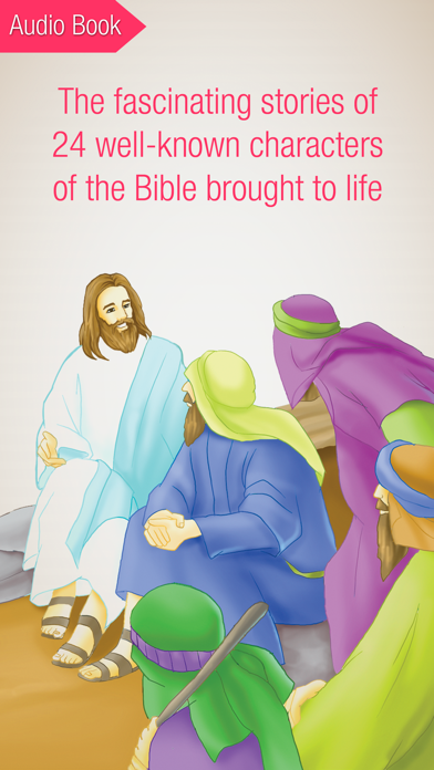 Bible People - 24 Storybooks and Audiobooks about Famous People of the BibleScreenshot of 2