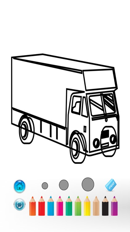 Trucks Coloring Book For Little Children Learn To Draw And Finger Paint Color Car