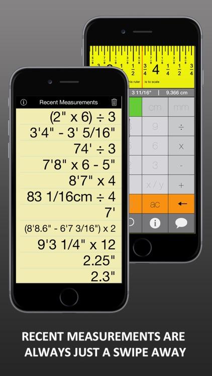 Tapeulator: Tape Measure Calculator screenshot-3