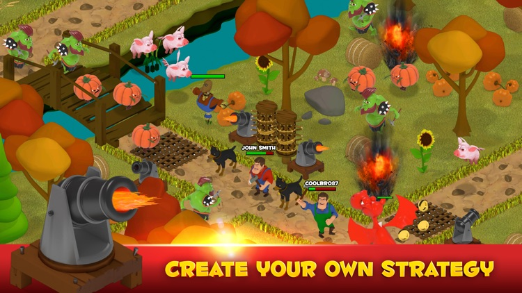 Battle Bros - Tower Defense screenshot-2