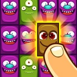 Crazy Square Faces
