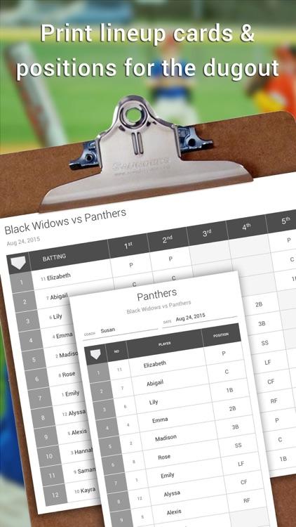 Lineup Softball - Youth Edition screenshot-4
