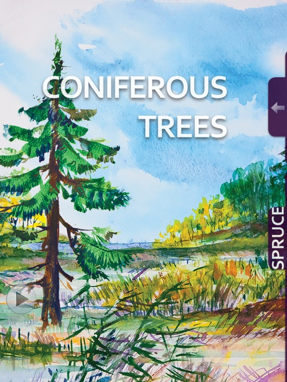 Watercolour - interactive book will help to develop your basic skills in Watercolor. screenshot-3