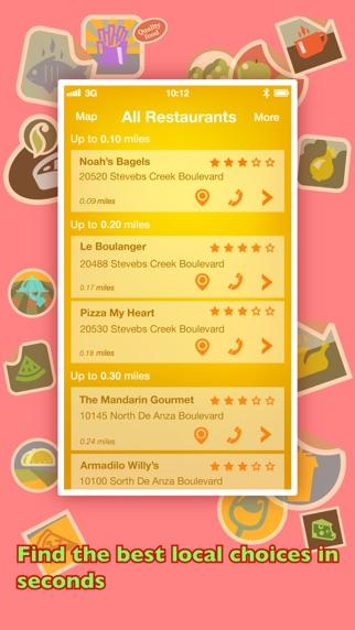 Screenshot for Hvor Skal Vi Spise? PRO - Find restauranter med GPS'en. in Denmark App Store