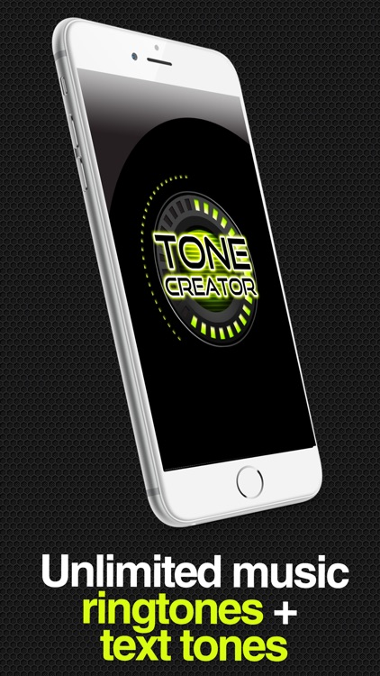 ToneCreator Pro - Create text tones, ringtones, and alert tones! screenshot-0