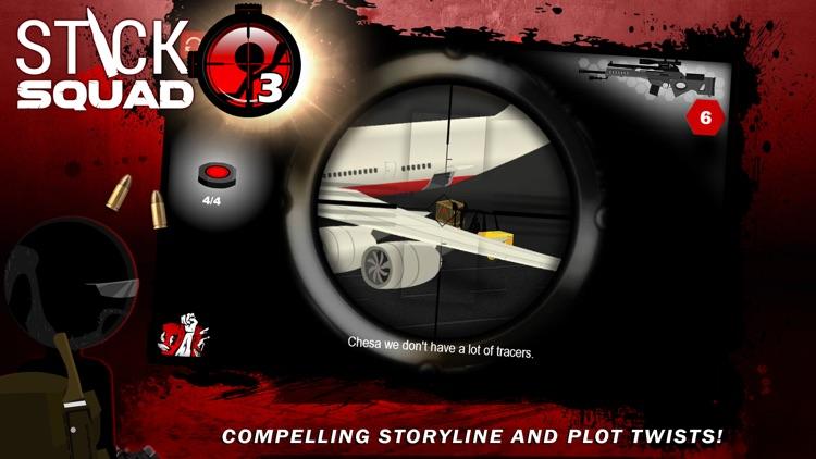 Stick Squad 3 - Modern Shooter screenshot-3